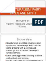 Structural Ism, Fairy Tales and Myth