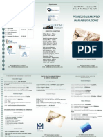 Brochure Perfezionamento in Riabilitazione - Palermo