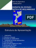 Cartografia da Divisão Administrativa de Moçambique- Dr. Antonio Miambo