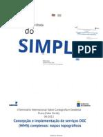 Concepção e Implementação de Serviços OGC(WMS) Complexos- Mapas Topográficos  Eng. Gustavo Herrera