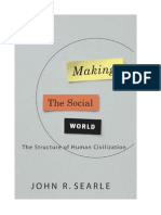 Searle Making the Social World