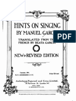 Hints on Singing-Manuel Garcia