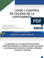 Producción y Control De Calidade De la Cartografia-Ing. Francisco José Suárez Rocha