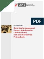 USP-D Dynamische Assessment Center