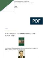 Rocinante a DEVASSA DA DEVASSA (Resenha) - Por_ Marcos Poggi