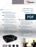 Data Projector DX329