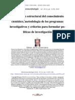 Lorenzano Estructura Conocimiento Cientifico