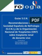 GUIAS SOC ESPAÑOLA NEFROLOGIA EN TX