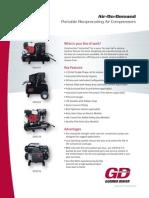 Aircom Technologies Gardner Denver Air-On-Demand Series Brochure
