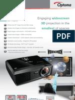 Data Projector EW610ST B en GB