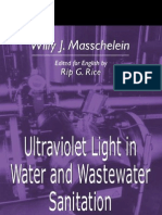 Ultraviolet Light in Water and Waste Water Sanitation