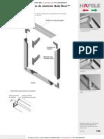 Perfiles de Aluminio Para Instalacion de Puertas