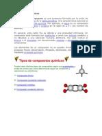 Clasificación de los Compuestos Químicos