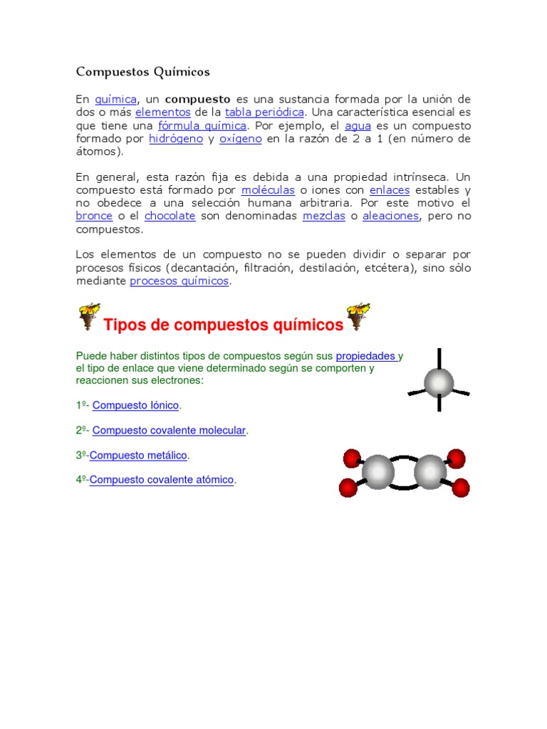 Clasificacin de los compuestos qumicos urtaz Image collections