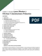 3.-Guía 3 para el Diseño de Cementaciones Primarias
