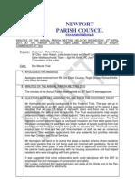 Minutes Annual Parish Meeting 27th April 11