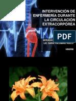 INTERVENCIÓN DE ENFERMERÍA DURANTE LA CIRCULACIÓN EXTRACORPÓREA