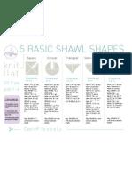 Shawl Shapes