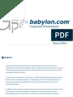 Babylon Presentation