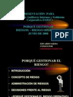 1 AUDITORES  INTER PORQUÉ_GESTIONAR RIESGOS - Riesgo operativo