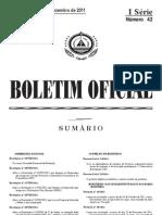 Decreto_ Lei nº 35_2011 de 26 de Dezembro, que estabelece o regime jurídico de Geodésia.