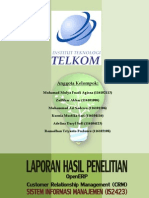 CRM OpenERP Laporan IS2423
