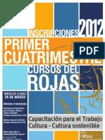 Cuadernillo 1er Cuatrimestre 2012 Cultura y Capa Final