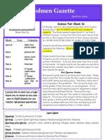 4 20 Newsletter