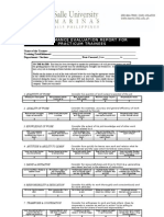 Performance Evaluation Report for Practicum Trainees