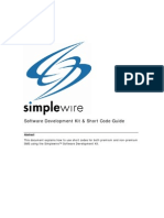 Simplewire SDK ShortCodes