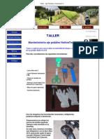 Taller - Eje Pedalier Hollow Tech II