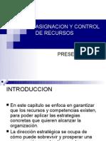 Asignacion y Control de Recursos Final