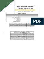 Ficha de Inscricao - ABR2012