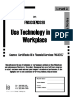 Fnsicgen302b Workbook