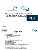 Presentación Capacitación CONSORCIO SAYP-FOSYGA,  MARZO 15 DE 2012