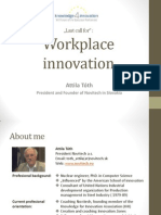 Last Call for Workplace Innovation