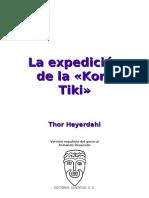 Heyerdahl Thor - La Expedicion de La Kon Tiki