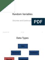04 Discrete and Continuous Random Variables