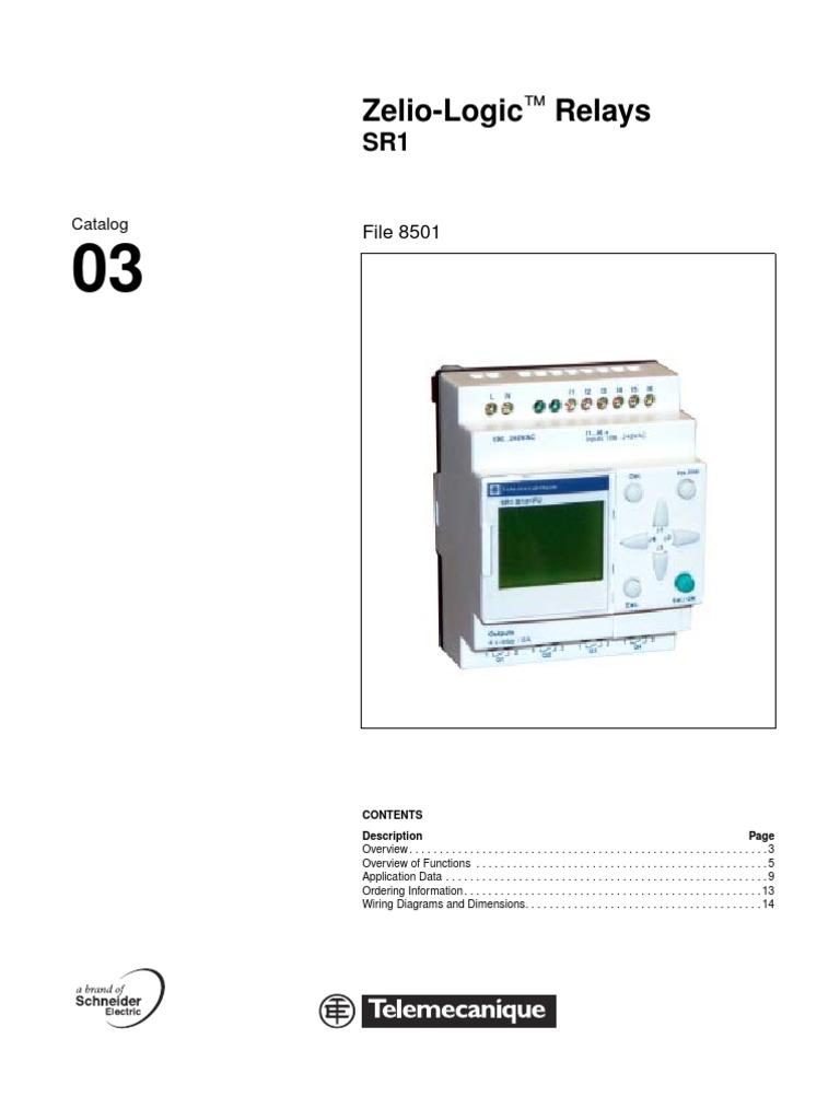 Strange Zelio Logic Relays Www Otomasyonegitimi Com Relay Personal Computers Wiring Database Gramgelartorg