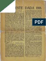 04_Tzara, Tristan_Manifeste Dada 1918