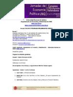 Congreso UNQ Marzo 2012 programa web versión 9 12-03-2012