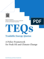 TEQs (Tradable Energy Quotas)
