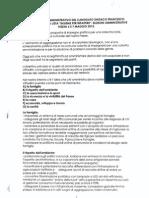 Programma elettorale lista Villardita