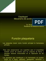 CLASES - Clopidogrel y agregación plaquetaria