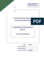 Acta de Aval Ciudadano