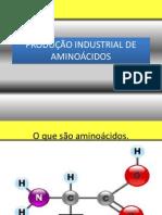 PRODUÇÃO INDUSTRIAL DE AMINOÁCIDOS