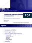 Contextualized Instruction for Adult English Language Learners-Deborah Kennedy