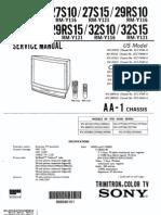 10348 Chassis AA-1 Manual de Servicio