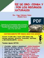 PPT de Hugo Cabieses sobre Conga