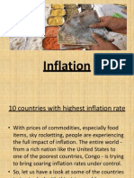 Inflation.